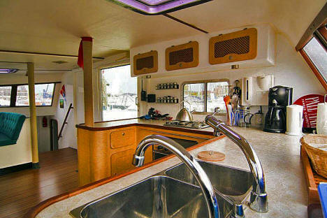 used kelsall tango 52 performance holiday catamaran for sale. Black Bedroom Furniture Sets. Home Design Ideas