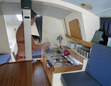 Foto S Van Tweedehands Telstar Toer Trimaran Te Koop In